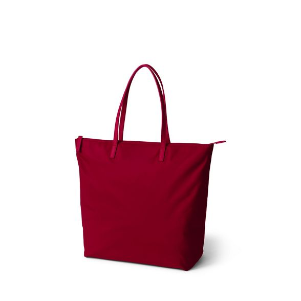 Lands' Red bag End Lands' End tote rq8wBrOn4