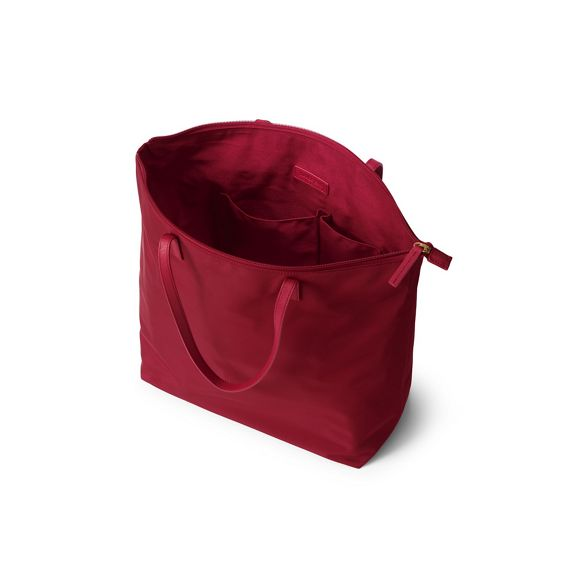 Red Lands' Red bag End tote Lands' End dRTdgwnfZq