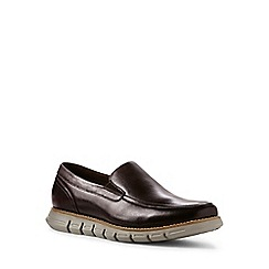 Lands' End - Brown regular casual comfort leather loafers
