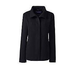 Lands' End - Black stand collar jacket