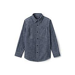 Lands' End - Boys' blue chambray shirt