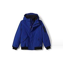Lands' End - Boys' blue squall bomber jacket