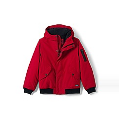 Lands' End - Boys' red squall bomber jacket