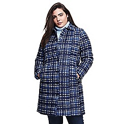 Lands' End - Multi plus patterned primaloft coat