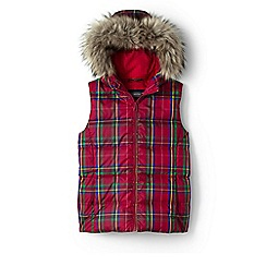 Lands' End - Girls' multi hooded down gilet