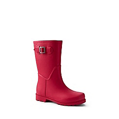 Lands' End - Red wellies