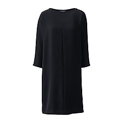 Lands' End - Black dolman sleeve shift dress