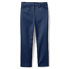 Lands' End - Blue Petite Chino Cropped Trousers
