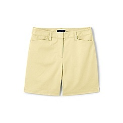 Lands' End - Yellow classic shorts in your favourite stretch chino fabric