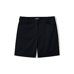 Lands' End - Black classic shorts in your favourite stretch chino fabric