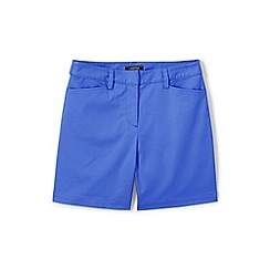 Lands' End - Blue Classic Shorts In Your Favourite Stretch Chino Fabric
