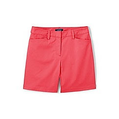Lands' End - Red Classic Shorts In Your Favourite Stretch Chino Fabric