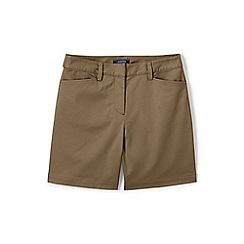 Lands' End - Beige classic shorts in your favourite stretch chino fabric