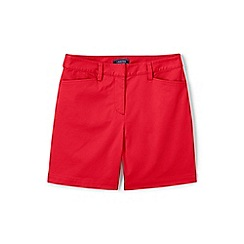 Lands' End - Pink classic shorts in your favourite stretch chino fabric