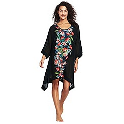 Lands' End - Multi-coloured floral kaftan cover-up dress