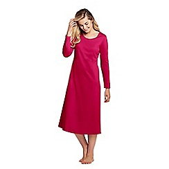 Lands' End - Red petite supima nightdress