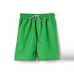 Lands' End - Boys' Green toddler  swim shorts