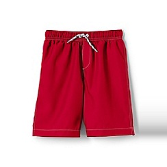 Lands' End - Red boys' swim shorts