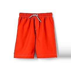 Lands' End - Orange boys' swim shorts