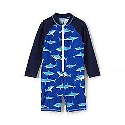 Lands' End - Blue toddlers' sun suit
