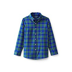 Lands' End - Blue boys' checked shirt