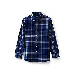 f442bbaa7d73e Lands  End - Blue boys  checked shirt