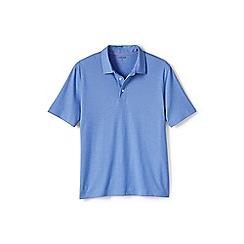 Lands' End - Blue performance polo shirt