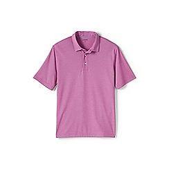Lands' End - Pink performance polo shirt