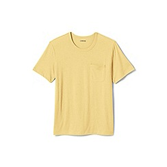 Lands' End - Yellow washed jersey t-shirt