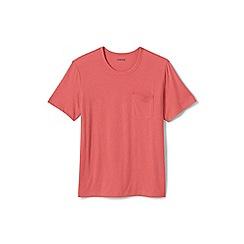 Lands' End - Pink washed jersey t-shirt