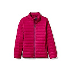 Lands' End - Girls' Pink  lightweight packable down jacket
