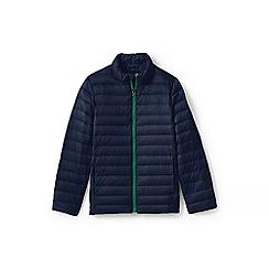 Lands' End - Boys' Blue  ultra lightweight down jacket