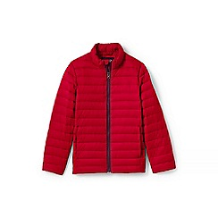 Lands' End - Boys' Red  ultra lightweight down jacket