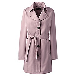 Lands' End - Pink harbour trench coat