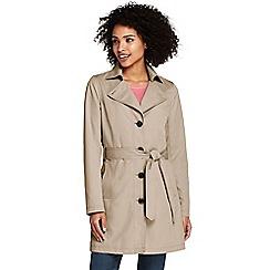 Lands' End - Beige harbour trench coat