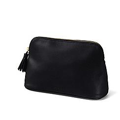 Lands' End - Black large cosmetics bag