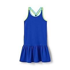Lands' End - Blue girls' strappy sun dress