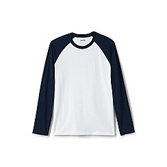 Lands' End - Blue baseball t-shirt