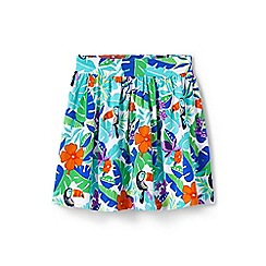 Lands' End - Multi toddler girls' patterned jersey skirt