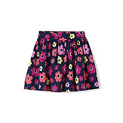 Lands' End - Girls' Multicoloured  patterned jersey skirt