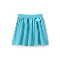 Lands' End - Girls' Blue toddler  jersey skirt