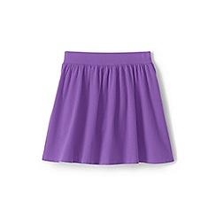 Lands' End - Purple girls' jersey skort