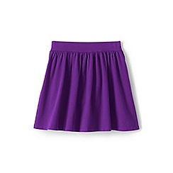 Lands' End - Girls' Purple  jersey skirt