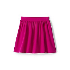Lands' End - Girls' Pink  jersey skirt