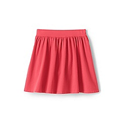Lands' End - Girls' Red  jersey skirt