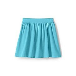 Lands' End - Girls' Blue  jersey skirt