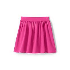 Lands' End - Pink girls' jersey skort