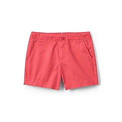 Lands' End - Red girls' chino shorts