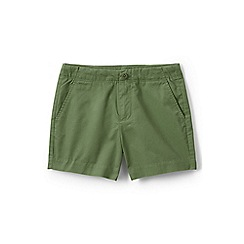 Lands' End - Green girls' chino shorts