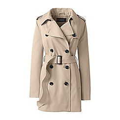 Lands' End - Beige short trench coat